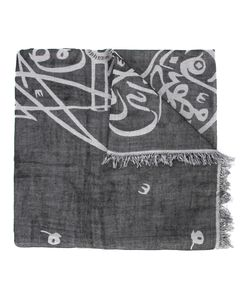Thamanyah | Bleach Print Scarf Adult Unisex Cotton