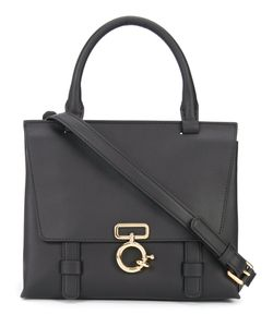 Derek Lam 10 Crosby | Buckled Satchel Nappa
