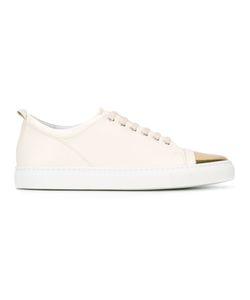 Lanvin | Tennis Sneakers 39 Calf Leather/Rubber/Goat Skin/Goat Skin