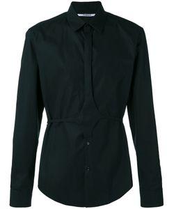 Chalayan | Button Belt Shirt Adult Unisex 46 Cotton