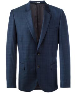 PS PAUL SMITH | Ps By Paul Smith Woven Check Blazer 36 Wool/Viscose