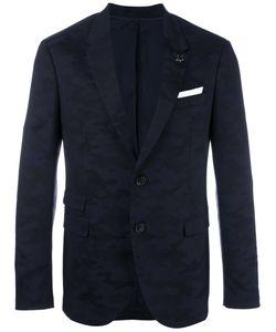 Neil Barrett | Camouflage Print Blazer 46 Cotton/Spandex/Elastane/Viscose/Polyester