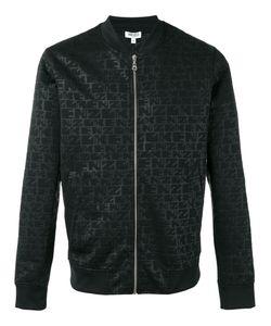 Kenzo | Logo Print Bomber Jacket Large Polyester/Polyamide