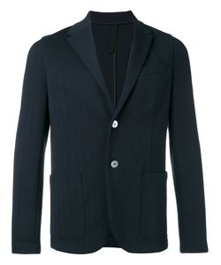 Harris Wharf London | Contrast Button Blazer Size