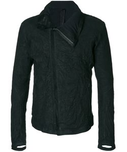 Isaac Sellam Experience | Crinkle Effect Jacket Men Cotton/Feather