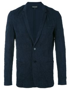 Emporio Armani | Welt Pockets Blazer