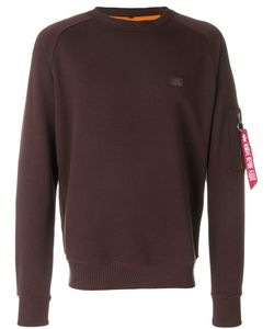 Alpha Industries | Pocket Detail Sweatshirt Unisex
