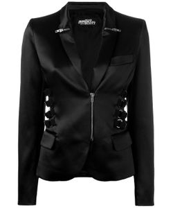 Jeremy Scott | Zip Strap Detail Blazer
