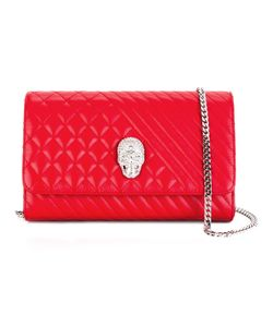 Philipp Plein | Mad Clutch Calf Leather/Polyester