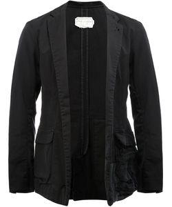 GREG LAUREN | Patchwork Dickens Blazer 2 Cotton/Linen/Flax/Rayon