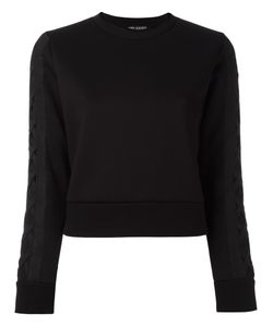 Neil Barrett   Lattice Detail Sweatshirt Xs Viscose/Polyurethane