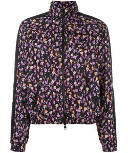 Versace | Flower Thrift Zip-Up Jacket 3 Polyamide/Spandex/Elastane/Polyester