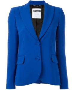 Moschino | Peaked Lapel Blazer 44 Polyester/Triacetate/Rayon