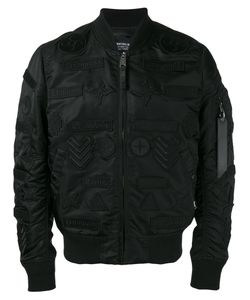 MARCELO BURLON COUNTY OF MILAN | Embroide Bomber Jacket Small