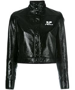 Courreges | Courrèges Vynil Jacket 36 Cotton/Polyurethane/Acetate/Cupro