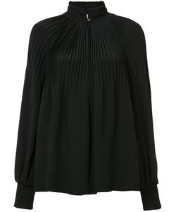 Tibi | Pleated Front Blouse 4
