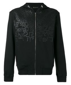 Versace   Greca Key Hooded Sweatshirt Size Xl