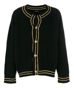 RICCARDO COMI | Contrast Trim Buttoned Cardigan Men Cashmere/Lambs