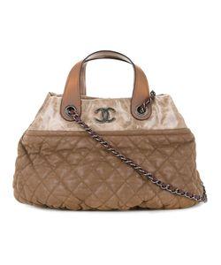 Chanel Vintage | Стеганая Сумка-Тоут С Цепочкой