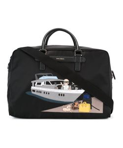 Dolce & Gabbana | Mediterraneo Designers Patch Holdall Leather/Nylon