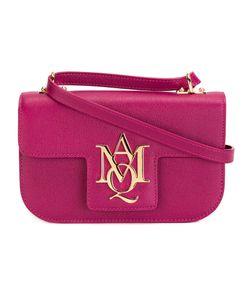 Alexander McQueen | Insignia Crossbody Baglogo Calf Leather