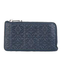 Loewe   Embossed Wallet Calf Leather