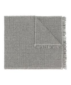 BORRELLI | Houndstooth Pattern Scarf Unisex One
