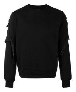 Les Hommes | Belted Sleeve Sweatshirt