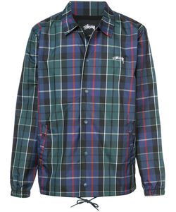 Stussy | Slogan Back Plaid Shirt Men