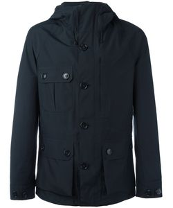 Woolrich | Button Up Hooded Jacket Small Polyester