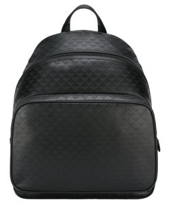 Emporio Armani | Embossed Logo Pattern Backpack Leather