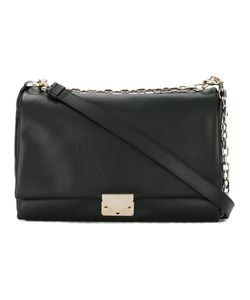 Emporio Armani | Logo Buckle Shoulder Bag Calf Leather/Cotton
