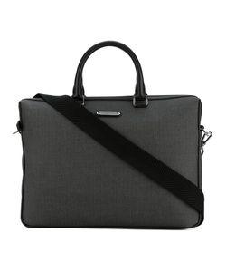 Ermenegildo Zegna | Trimmed Herringbone Laptop Bag