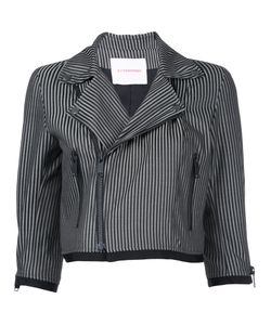 A.F.Vandevorst | Stripe Cropped Jacket 38