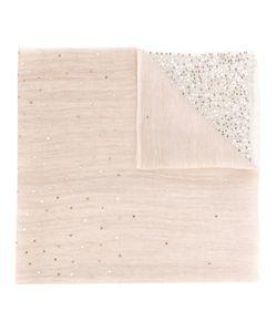 Hemisphere | Sequins Trim Scarf Wool/Linen/Flax