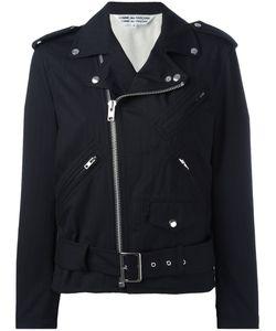 COMME DES GARCONS COMME DES GARCONS | Comme Des Garçons Comme Des Garçons Ruffled Sleeves Biker Jacket