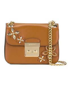 Michael Michael Kors | Embellished Shoulder Bag Leather