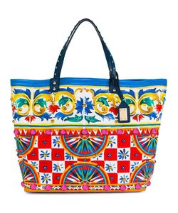 Dolce & Gabbana | Mambo Print Shopper Cotton/Calf