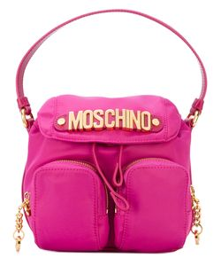 Moschino | Fabric Camera Style Logo Plaque Bag