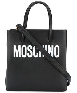 Moschino | Logo Print Tote Leather