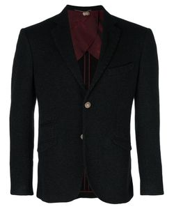 Maurizio Miri | Fitted Button Up Suit Jacket Men
