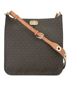 Michael Michael Kors | Logo Pattern Print Shoulder Bag Leather