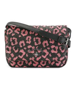Vivienne Westwood Anglomania | Leopard Print Crossbody Bag Polyester/Cotton/Leather