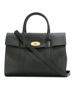 Mulberry | Fold-Over Closure Tote Leather