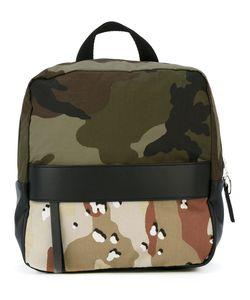 MM6 by Maison Margiela | Mm6 Maison Margiela Camouflage Panel Backpack