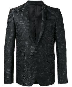 Les Hommes | Jacquard Blazer Size 56