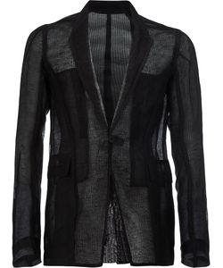 Rick Owens | Knitted Blazer 52 Silk/Linen/Flax
