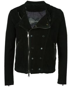 Giorgio Brato | Double-Breasted Detail Biker Jacket 52 Leather