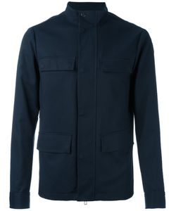 Emporio Armani | Button Up Jacket Xl Cotton/Spandex/Elastane/Polyester
