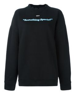 OFF-WHITE | Something Special Sweatshirt Medium Cotton